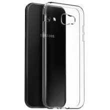 Силиконовый прозрачный чехол для Samsung Galaxy A7 (17)