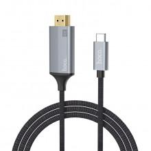 Кабель-адаптер Hoco UA13 HDMI to Type C