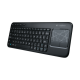 Беспроводная клавиатура Logitech K400 со встроенной сенсорной панелью Multi-Touch