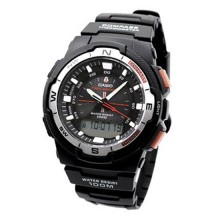 Часы Casio SGW-500H-1BV Black Resin Multifunction Watch
