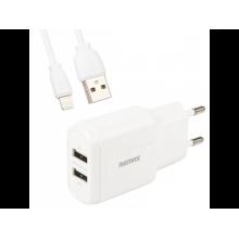 Зарядное устройство Remax RP-U22 2*USB Lightning